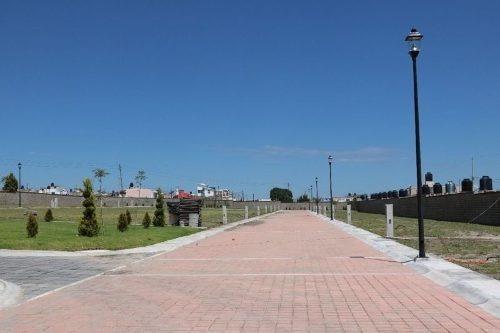 ¡¡ excelente terreno de 120m2 en fraccionamiento residencial parque ingles !!