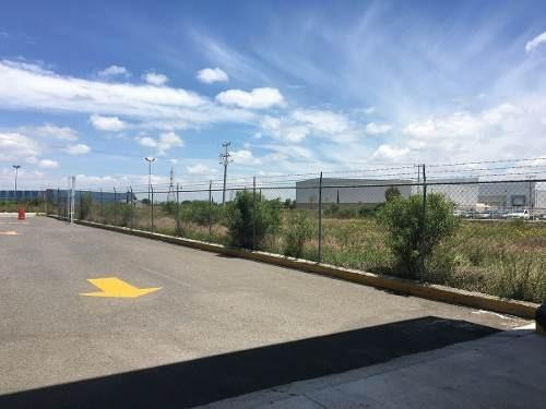 ¡¡ excelente terreno de 4454m2 en parque industrial tlc en el marques !!