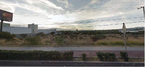 ¡¡ excelente terreno en renta sobre paseo de la republica en jurica de 5000m2!!