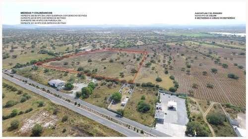 ¡¡ excelente terreno en venta de 84190m2 en carretera a colon !!