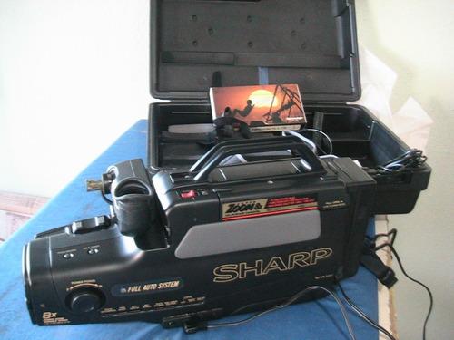 * filmadora sharp vl l170b não liga p/ colecionador completa