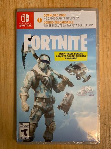 ..::  fortnite deep freeze bundle ::.. para switch gamewow