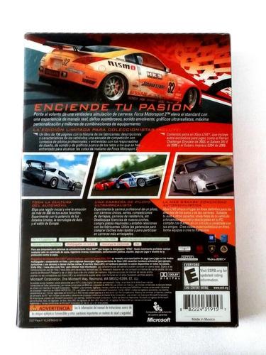 ¡¡¡ forza motorsport 2 edición limitada para xbox 360 !!!