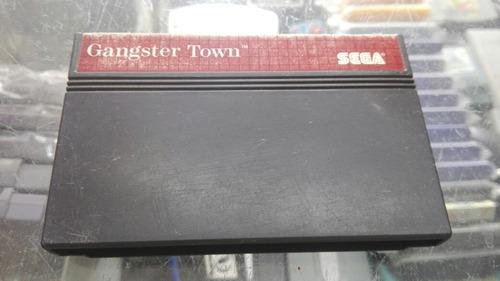** gangster town para tu sega master system **