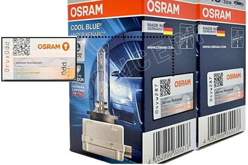 ( garantia ) xenon osram d3s cool blue intense xenarc 5000k