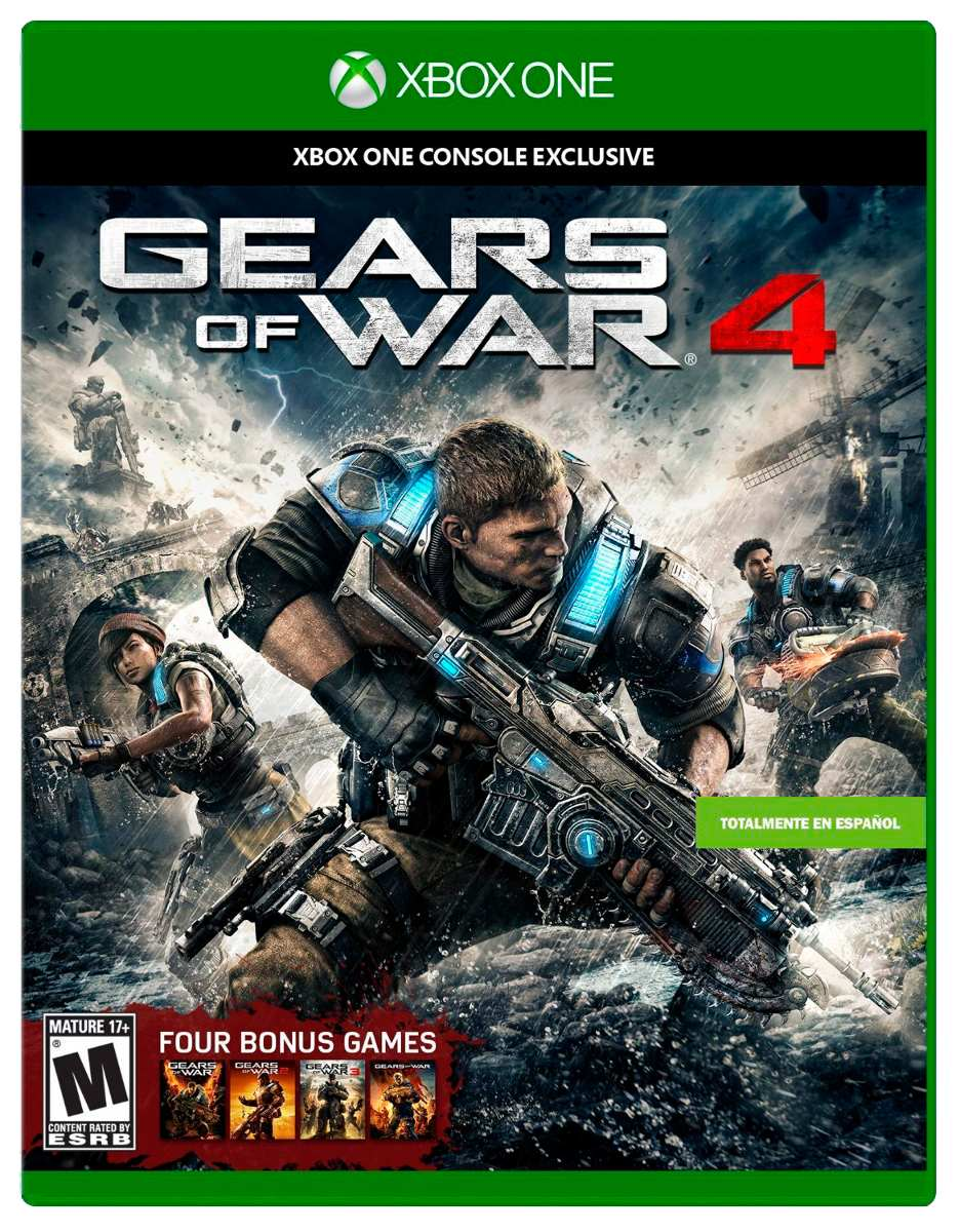Gears Of War 4 Xbox One En Wholegames 749 00 En Mercado Libre