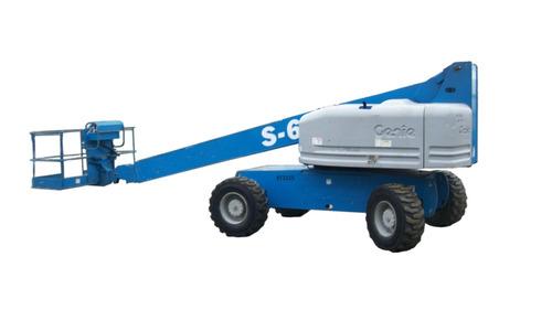 +genie plataforma de elevación genie s-60 telescópica 2004