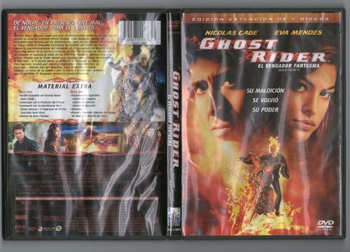.: ghost rider: el vengador fantasma :.  dvd seminuevo!!!