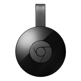 Google Chromecast 2nd Generation  Full Hd 256mb  Preto Com Memória Ram De 512mb