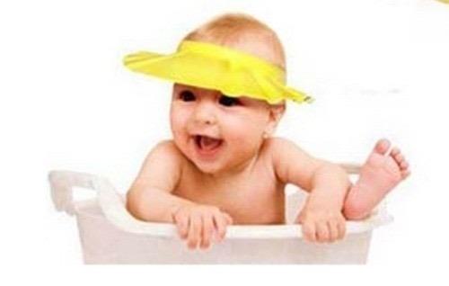 Gorro Visera De Ducha Para Baño Bebé Niño Protege Ojos !! -   8.000 ... 8e2d53c9dad