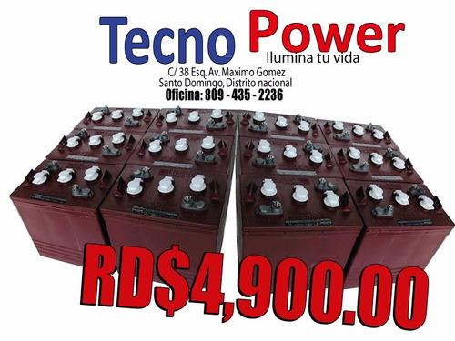 ** gran oferta ** baterias . trace . de inversores -regalos-