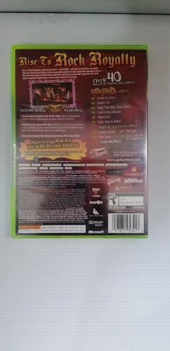 ..:: guitar hero aerosmith (solo juego) ::.. xbox 360 en gc
