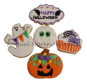 Halloween Galletas Decoradas Artesanales Fiesta