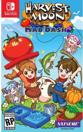 ..:: harvest moon mad dash ::.. switch en game center
