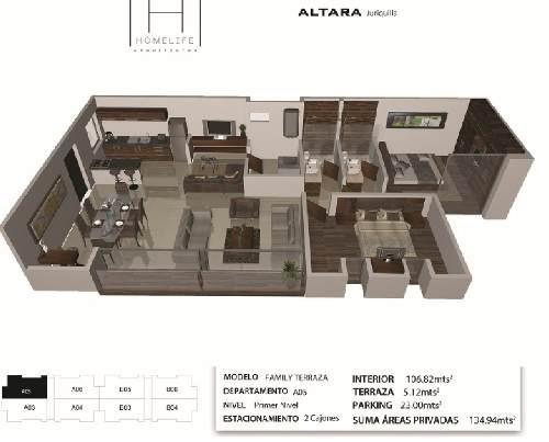 ¡¡ hermoso departamento con terraza ubicado en altara juriquilla !!