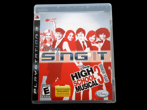 ¡¡¡ high school musical 3 - sing it para ps3 !!!