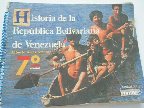 + historia de la b.  venezuela 7º alberto  arias amaro