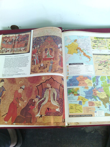 === * historia universal ilustrada 3 volúm. edit. larousse*