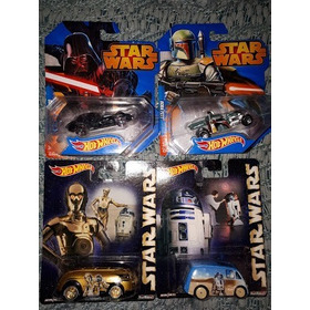 Hot Wheels Lote Star Wars Autos Y Naves