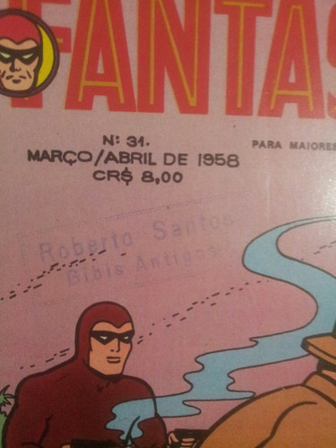 # hq. fantasma magazine.31. rge. original.excelente.raro.!!!