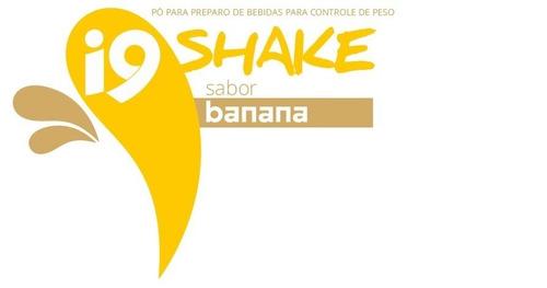 +i9shake com whey protein - banana - 550 gr