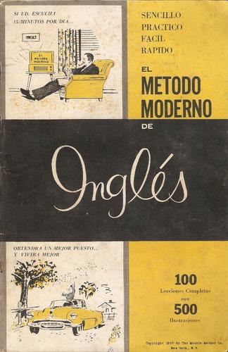 + idiomas  el método moderno de inglés, en cd