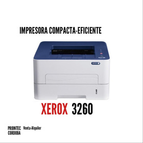 Impresora Laser Xerox 3260 Wifi Duplex Suc. Cordoba