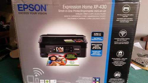 _____ impresora multifuncional epson xp-430 wireless ______