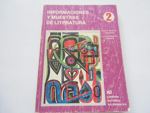 + informaciones y muestras literatura pedro izquierdo