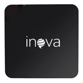 Inova Tv Box Dig-6200  Padrão 4k 32gb  Preto Com Memória Ram De 4gb