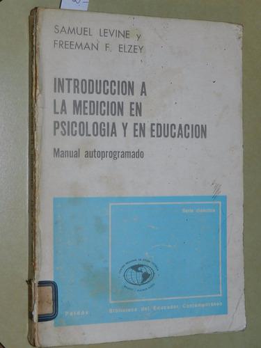 * introduccion a la medicion en psicologia y en educac  l042