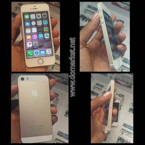 {^-^} iphone 5s    16gb    gold    delboqueado, grado a.
