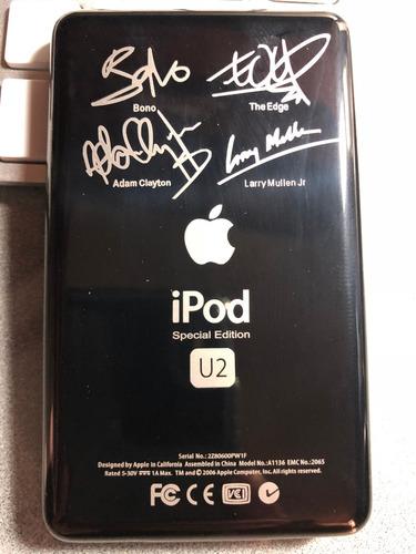 ]]] ipod classic 128gb ssd special edition u2 en su caja [[[