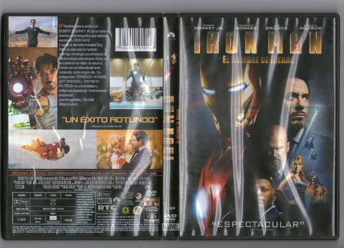 .: iron man: el hombre de hierro :.  dvd seminuevo!!!