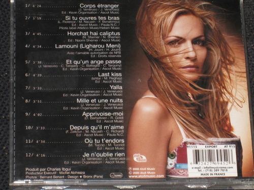 * ishtar * the voice of alabina c d 12 tracks importado