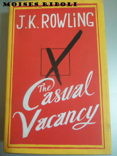 * j. k. rowling the casual vacancy * a3