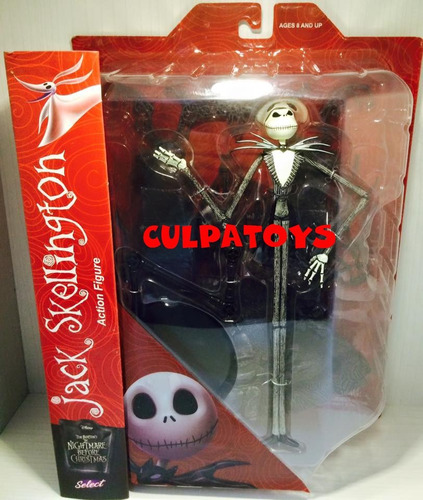 --- jack skellington de marvel select de lujo tim burton ---