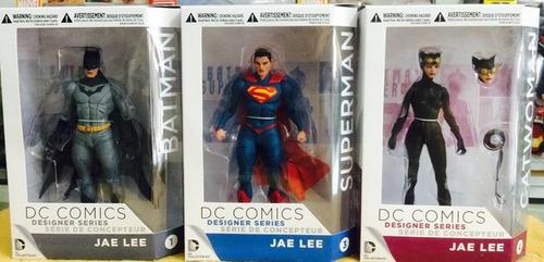 --- jae lee serie superman batman gatubela dc collectibles -