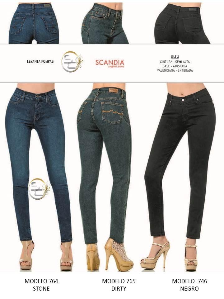 04a88602523 levanta Cargando jeans dama zoom pompas slim entubado scandia mezclilla  XnOHqO74B