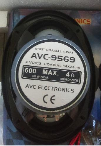 ()()() juego de bocinas avc  6x9 de 600 watts c/u ()()()