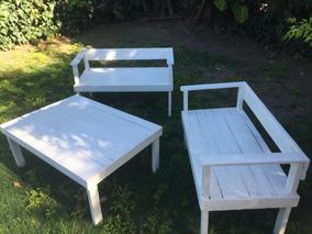 Juego Jardin Palet - Muebles de Jardín en Mercado Libre Argentina