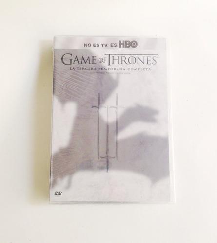 + juego de tronos temporada 3 en dvd  +