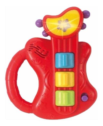 ¡ juguete bebé sonidos estimulador musical guitarra winfun !