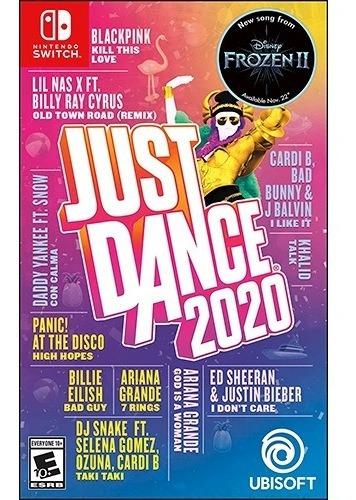 ..:: just dance 2020 de switch ::.envio hoy en game center
