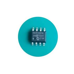 ( Kit C/ 10 Peças) Mcp2551 Smd Circuito Integrado Mcp2551