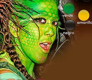 ¡ kit pintu-caritas maquillaje pinta-caritas paint face !!