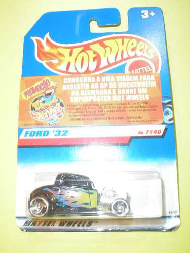 ( l - 120 ) hot wheels  ford 1932 # 1