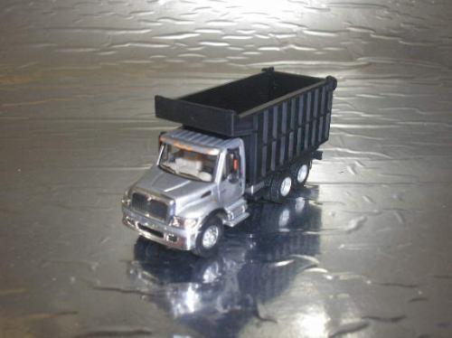 ( l - 130 ) schuco 1:87 caminhão internacional caçamba