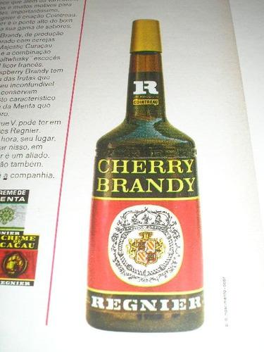 ( l - 290/ g ) propaganda antiga bebida cherry brandy