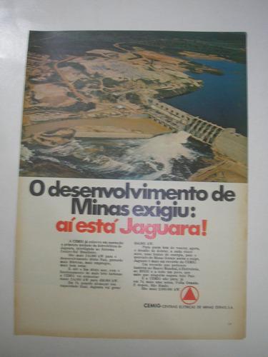 ( l  290/ g ) propaganda antiga central de energia cemig
